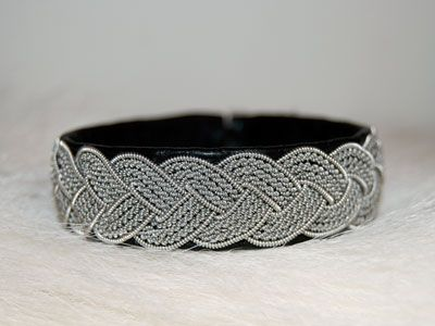 Pewter bracelet Storforsen