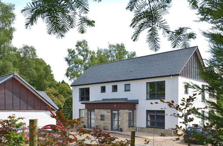 This new build project in Strathblane, Stirlingshire is actually two generous new apartments