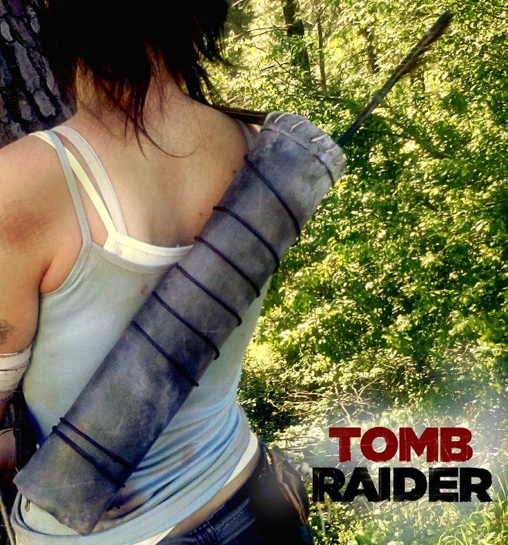 Répliques accessoires équipements : Carquois - Lara Croft Tomb raider 2013 : Ceinture par figurinesheros