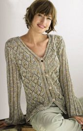 Women s Cardigan Knitting Pattern : 1008 best Free Knitted Patterns For Women images on Pinterest