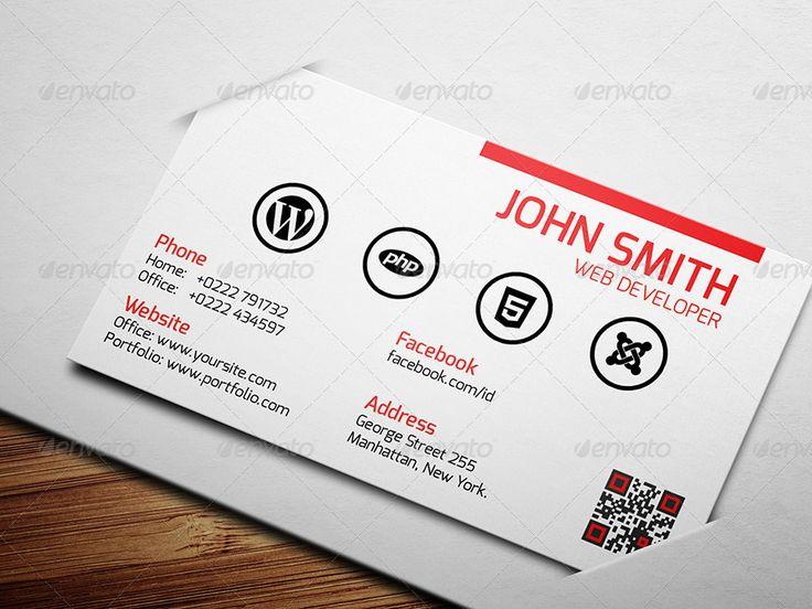 121 best Business Cards images on Pinterest | Business card design ...