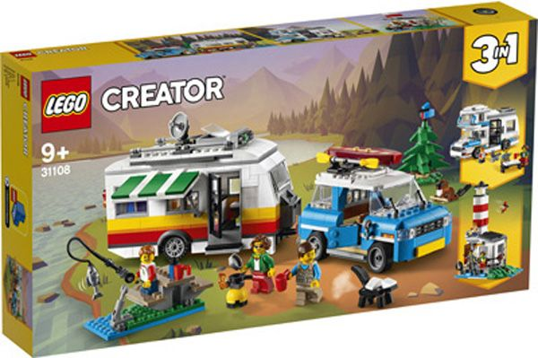 Lego 31108 1 Camper Van In 2020 Lego Creator Lego Creator Sets Lego Camper