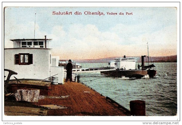 Oltenita - Port - interbelica