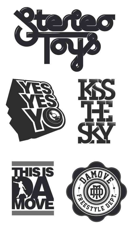Typography v.1 on the Behance NetworkTypography V 1, Behance Network, Typography V1