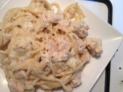 Cuisine Ma-Ligne!: One-Pot-Pasta WW Poulet sauce au fromage 9pp