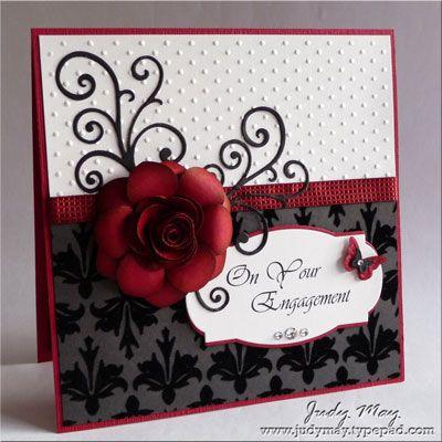 Judy May card....stunning!