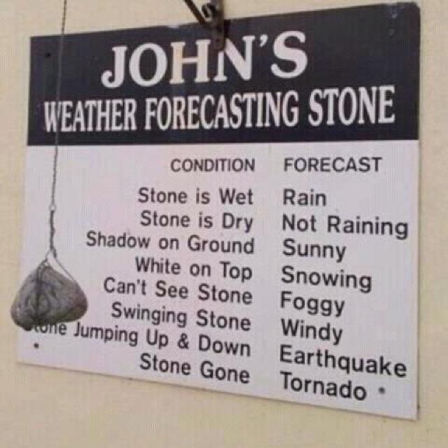 Irish weather station  lol