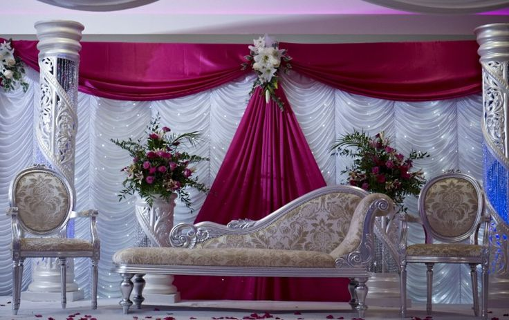 17 best images about stages on pinterest indian weddings for Arab wedding stage decoration