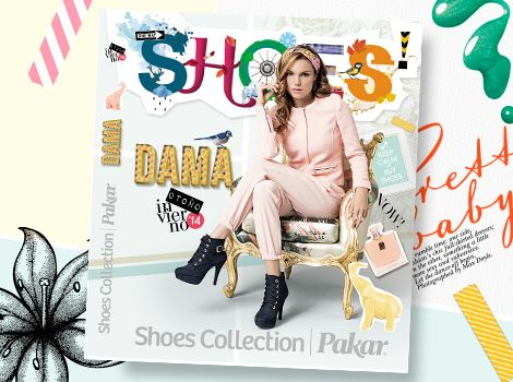 Catálogo Dama Shoes Collection Pakar Otoño invierno 2014