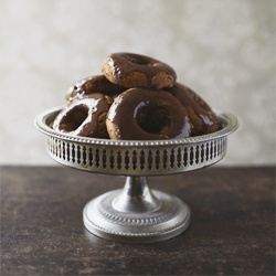 Pumpkin Spice Donuts with Cinnamon Butter Glaze. Gluten, grain and ...