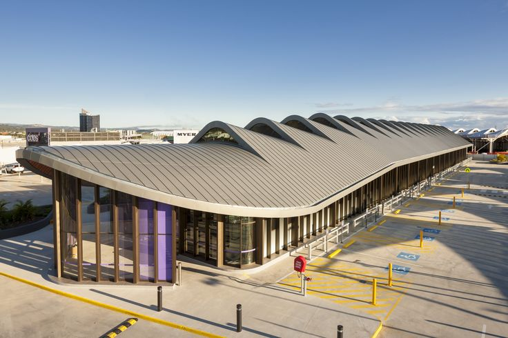 ROBINA TOWN CENTRE STAGES 2A & 2B DOUBLE LOCK STANDING SEAM ALUMINIUM