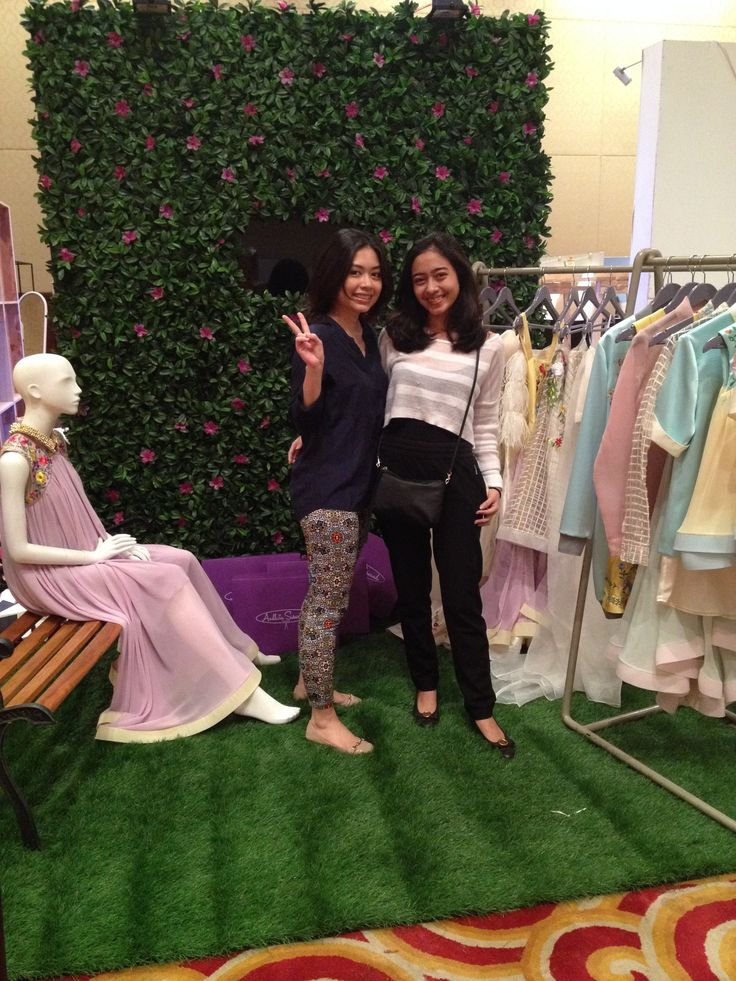 It's a wrapped! After Buyers Room for Jakarta Fashion Week 2015.