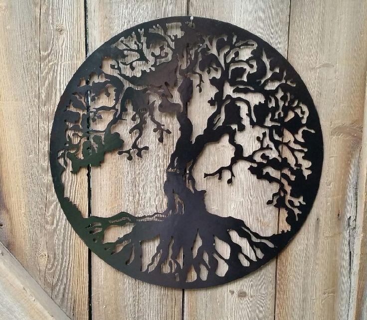 Metalen Levensboom Muurdecoratie | •WOONACCESSOIRES | NIEUWETIJDSHOP