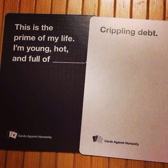 This student.   Community Post: 14 Cards Against Humanity Players Who Win At Life