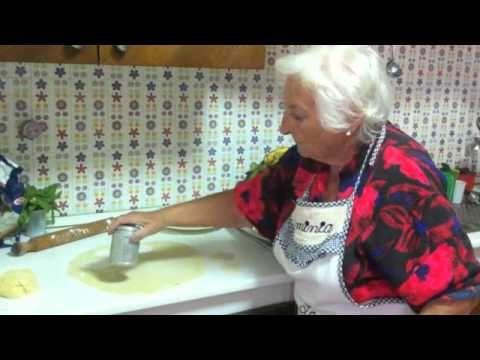 calzoncini fritti della nonna d'italia