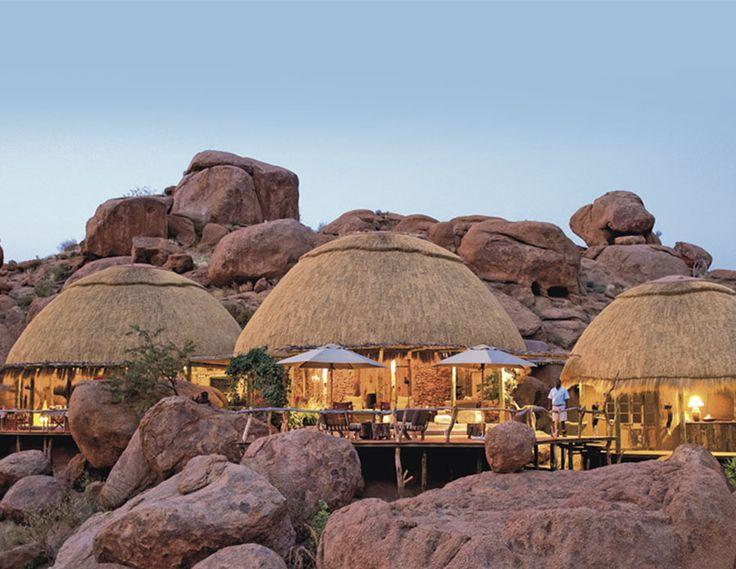 Hotel lodge en namibie | voyage en namibie - une halte au camp kipwe**** - Club Med