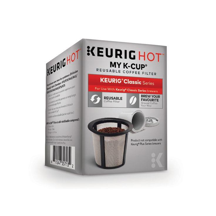Keurig® My K-Cup Reusable Coffee Filter, Multicolor