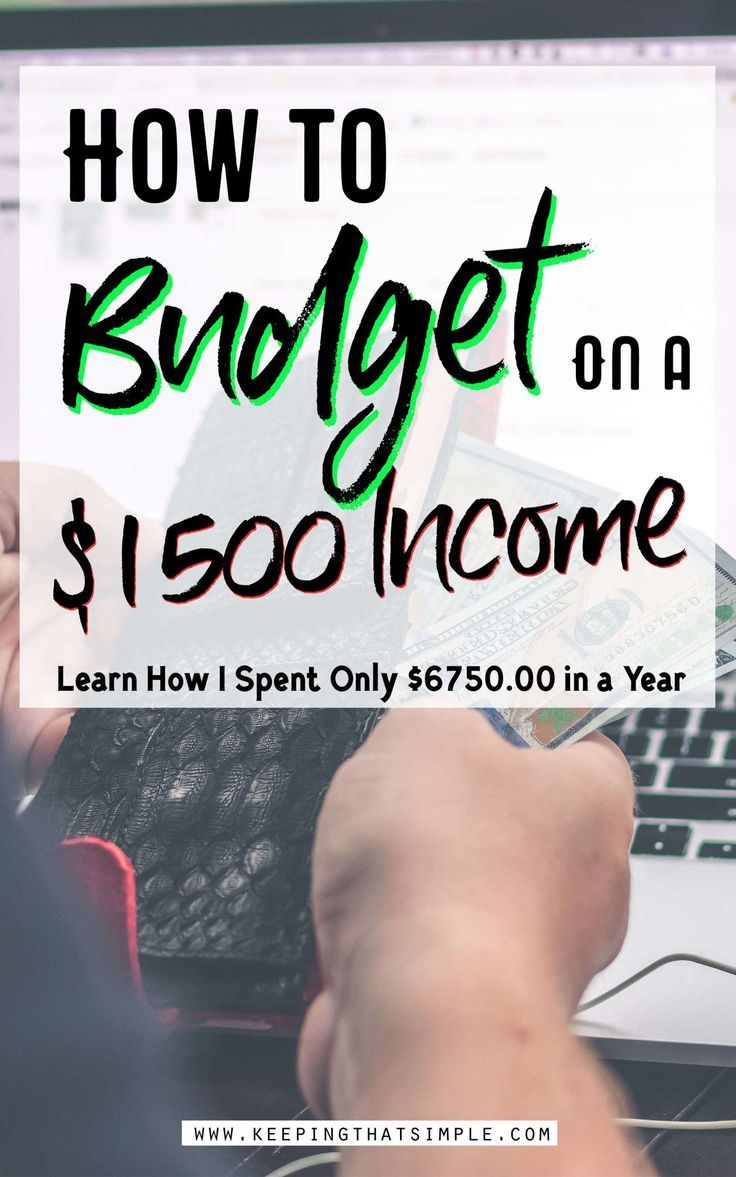 How I Spend Only $6750 in a Year Through Budgeting