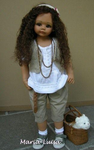 Виниловые куклы Gaby Jaques, Габи Жак - Swiss Kids
