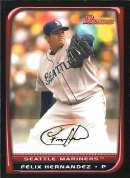 2008 Bowman #157 Felix Hernandez Front