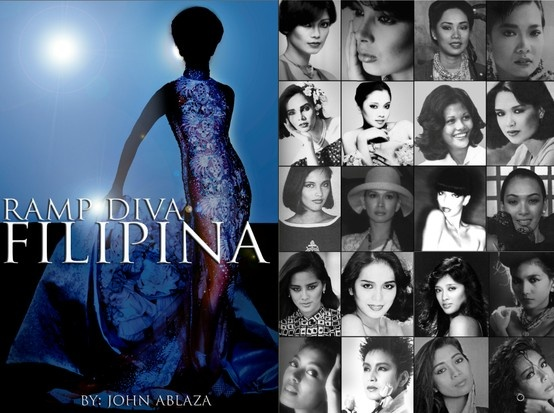 Ramp Diva is a coffee table book by designer John C. Ablaza featuring Filipina Supermodels over the last 30 years.  It was launched in Toronto, Canada during Canada Philippine Fashion Week last June 11 2013.