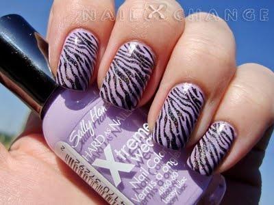 Liliac Zebra Stripes: Nails Art, Monsters Bundle, Nails Galore, Nails Polish, Fave Nails, Bundle Plates