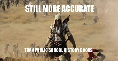 assassins creed funny memes | Assassin's Creed Has Taught me More About History Than in School…