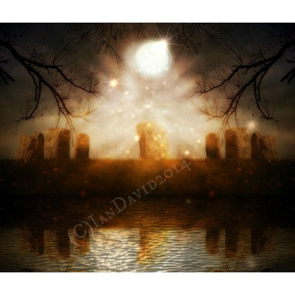 Stone Circle Photography Standing Stones Art Print