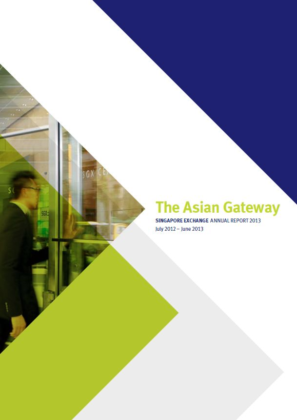 Singapore Exchange Annual Report 2012-2013