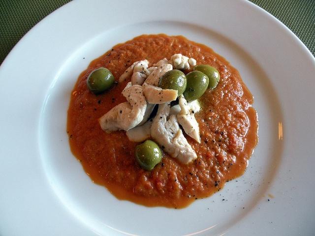 Filetti di pollo con crema di verdure by chefpercaso, via Flickr