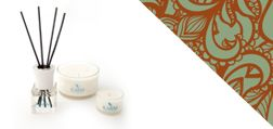 Scented Aromatherapy Candles from the Karm Sublime Collection