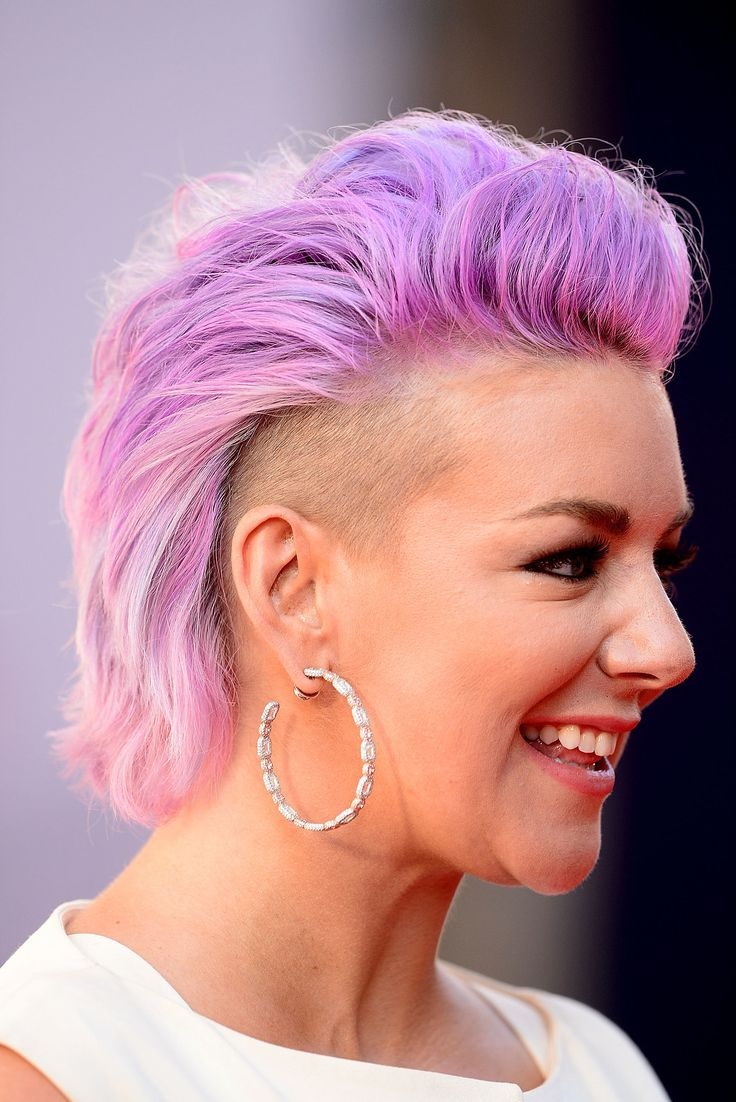Sheridan Smith Shaves Her Hair and Dyes It Lilac | POPSUGAR Beauty UK