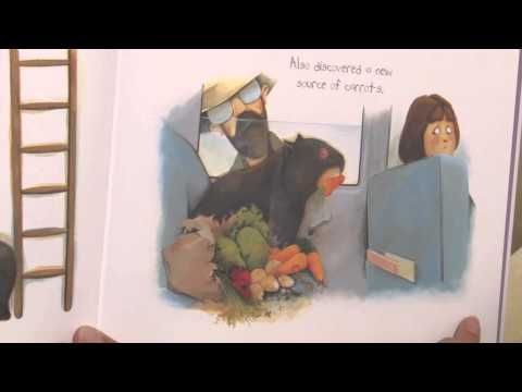 Diary of a Wombat - by Jackie French and Bruce Whatley (© Harper Collins Publishing) - Read aloud on video with pictures, Australian reader! :)