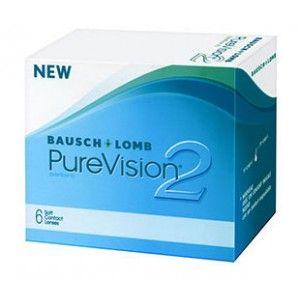 Lentile de contact lunare Bausch & Lomb Pure Vision 2 - 6 lentile / cutie - http://lensa.ro/lentile-de-contact/bausch-lomb/pure-vision-2-6-lentile