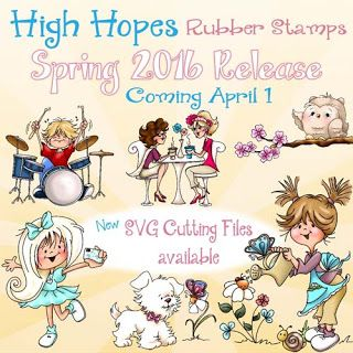High Hopes Stamps new Spring 2016 Release Coming April 1