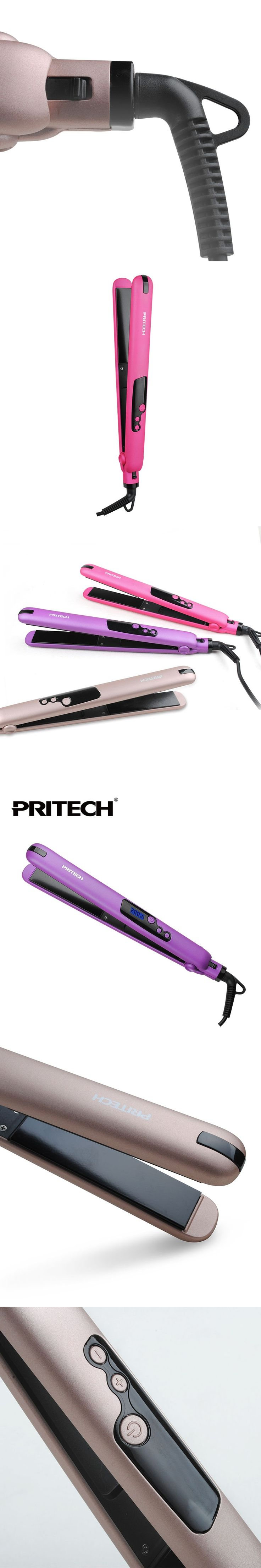 PRITECH Brand Fashion Hair Straightener Travel Hair Straightener Portable Hair Flat Iron Hair Styling Tools Color Random