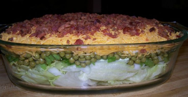 Saddle Up For Some Seriously Deep 7-Layer Salad - Page 2 of 2 - Recipe Patch
