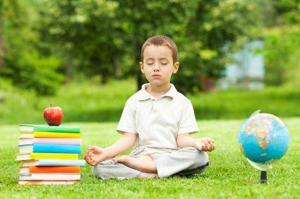 FRANCE – Val de Norge – Yoga et méditation, un succès à l'école primaire