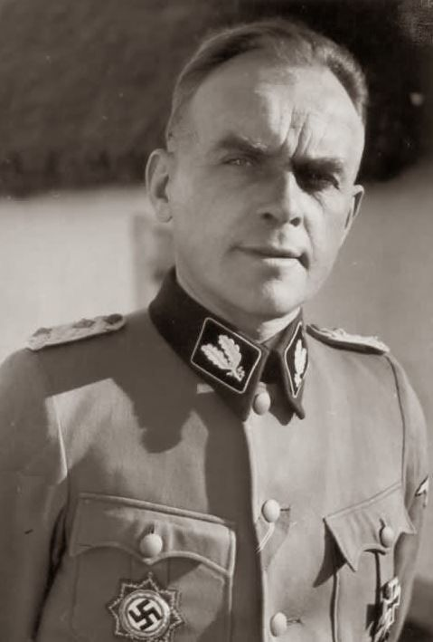 Brigadeführer Waffen SS Jürgen Wagner was commander of the 23rd SS Volunteer Panzer Grenadier Division Nederland. He was charged with war crimes in Serbia and military tribunal sentenced to death, He was executed by firing squad on June 27, 1947.