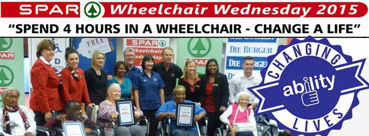 SPAR Wheelchair Wednesday 2015 Promotional Banner