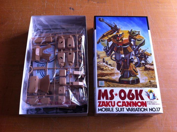 1/100 MS-06K ZAKU CANNON  BANDAI 1995
