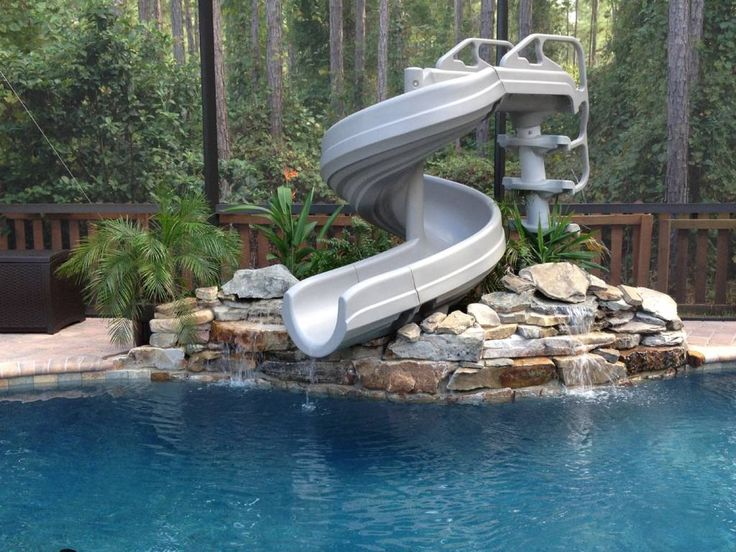 25 Best Ideas About Above Ground Pool Slide On Pinterest Pool Slides Above Ground Pool Decks