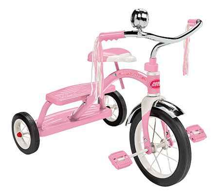 Classic Pink Dual Deck Tricycle