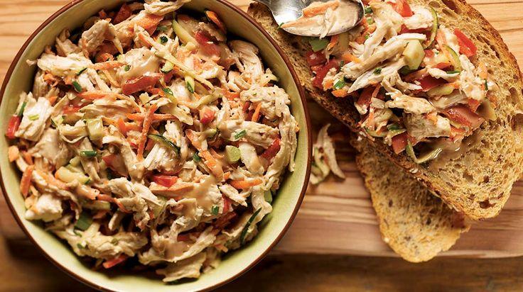 salade dindon crémeuse