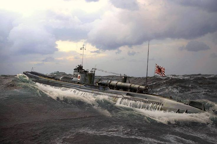 The I-27 was a type B1 submarine of The Imperial Japanese Navy which saw service during the Pacific Campaign of World War II. She was commissioned at Sasebo, Japan on February 24, 1942. On 18 May 1942 I-27 embarks a HA-14, a Type A midget submarine and its crew from submarine carrier CHIYODA. She departs Truk with I-22 and I-24 on her second war patrol to participate in the attack on Sydney.