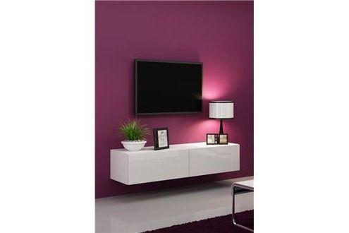 1000 id es sur le th me meuble tv suspendu sur pinterest for Parois murales modulables