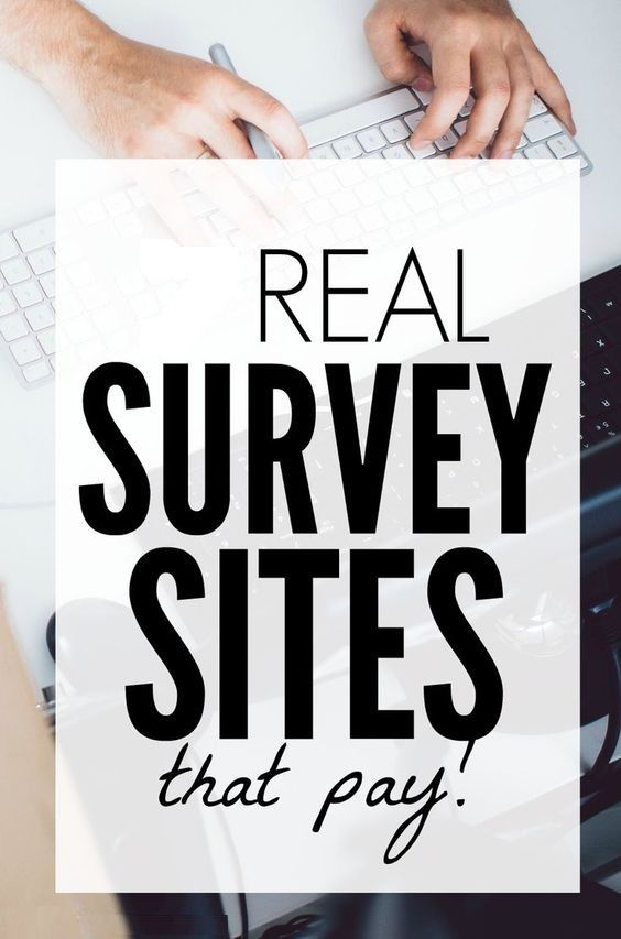 Real Survey Sites That Pay – Make Money From Home