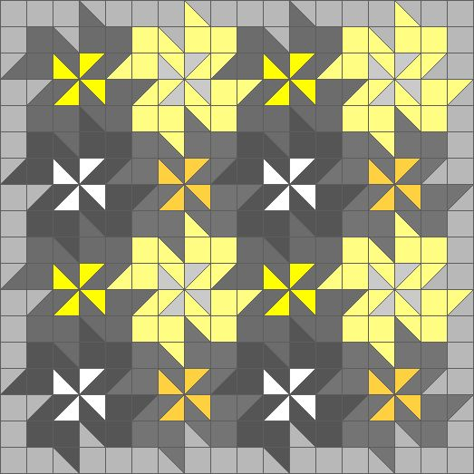 Quilt Patterns Using Squares And Triangles : 530 best Half Square Triangle quilts images on Pinterest Quilt blocks, Pointe shoes and Comforters