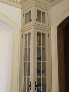 Tall corner cabinet - Google Search