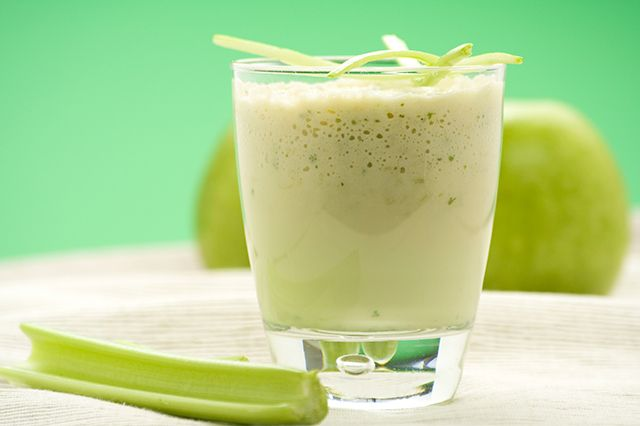 Green Apple Energy Smoothie